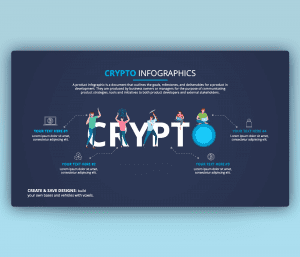 Crypto Infographic PowerPoint Template Free PPT