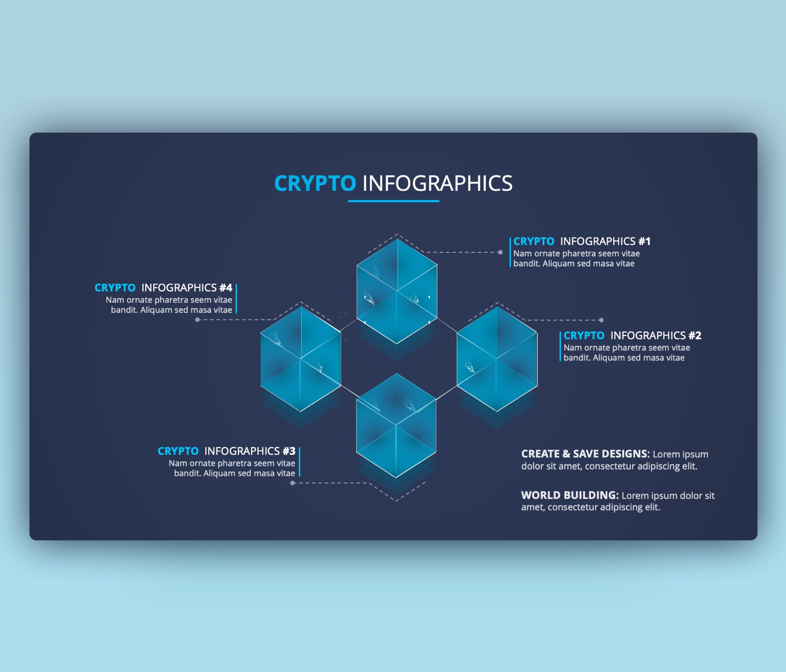 CRYPTO BUSINESS  INFOGRAPH
