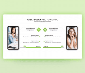 Great & Powerful Product PowerPoint Template