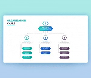 Organization Chart PPT Template Free Download