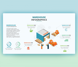 Warehouse Operations PPT – PowerPoint Infographic