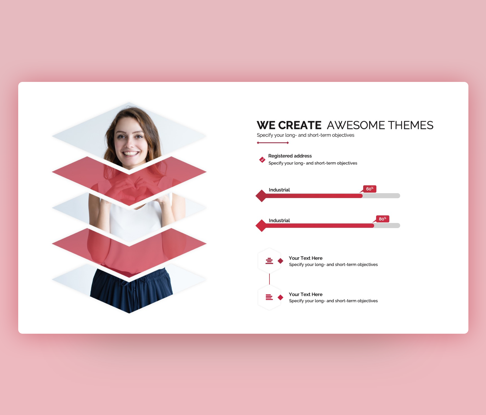 We Create  Awesome Themes – Objective PowerPoint PPT