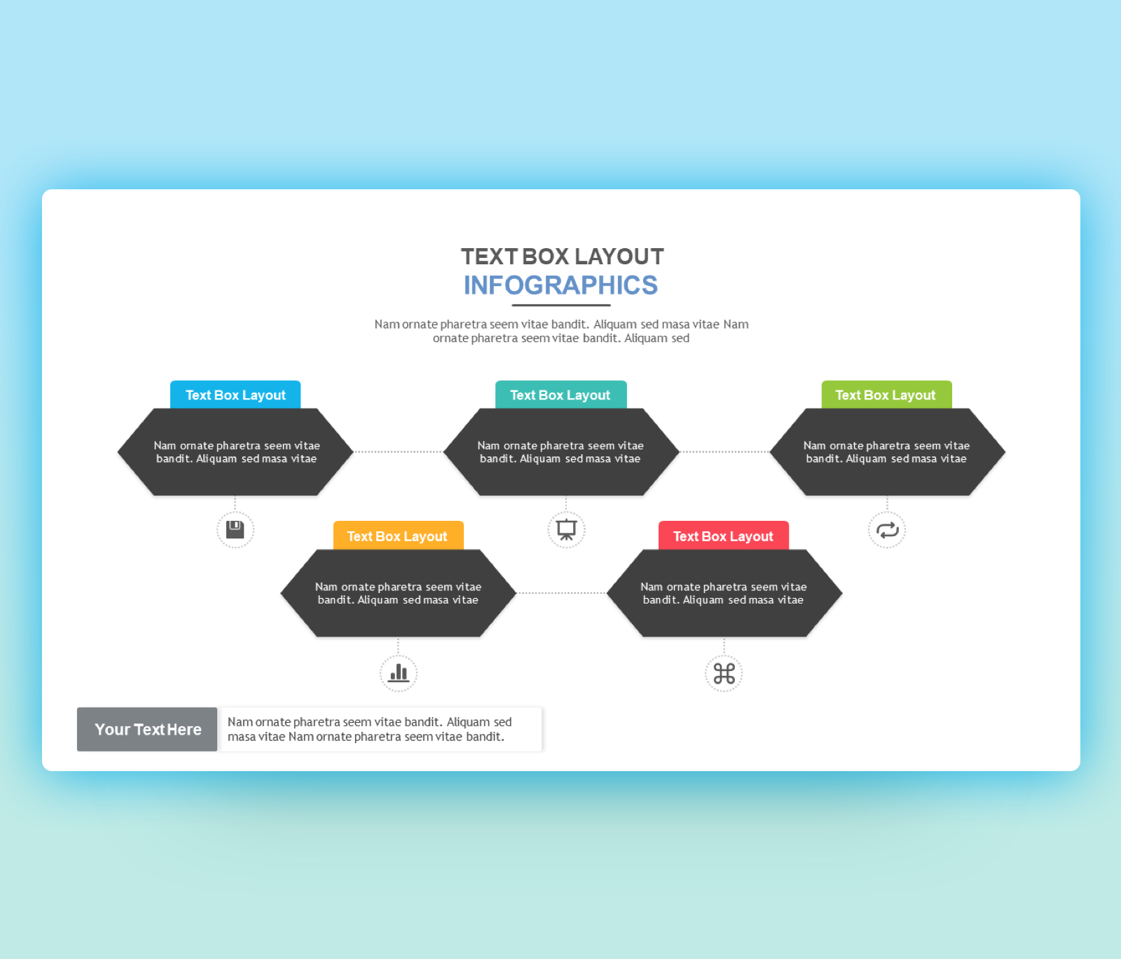 The Best Text boxes layouts PowerPoint Templates