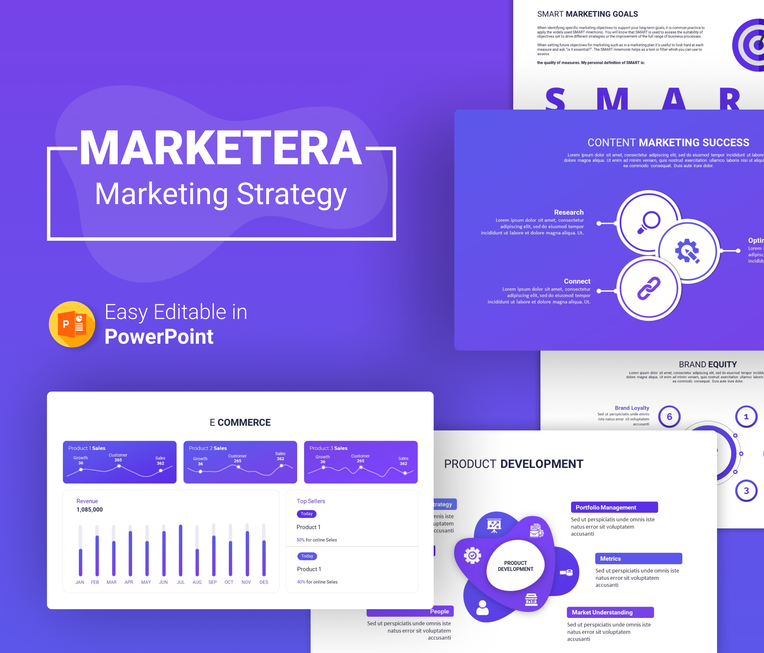 Marketera Marketing Strategy PPT Presentation
