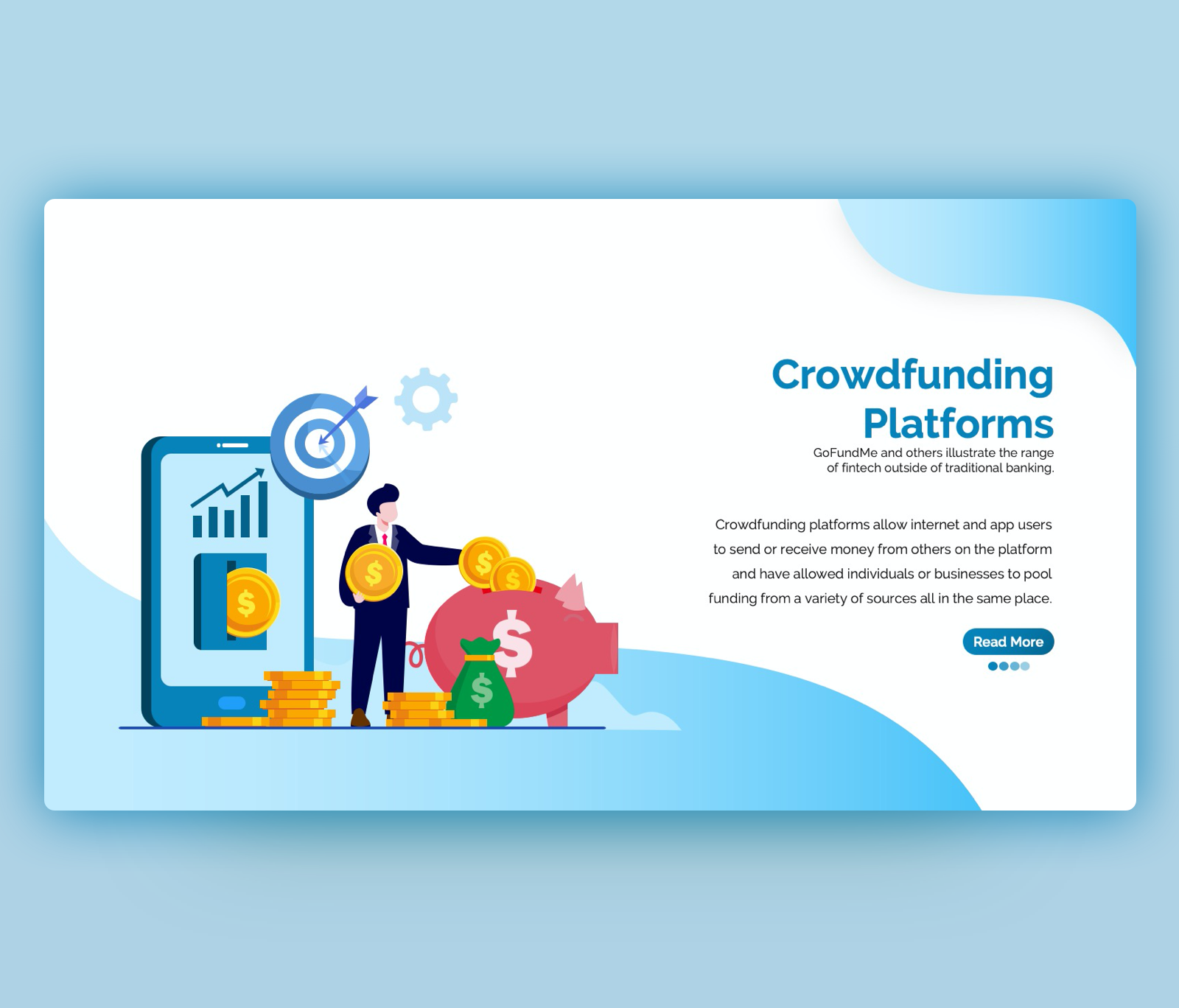 Crowdfunding Platforms PowerPoint Template