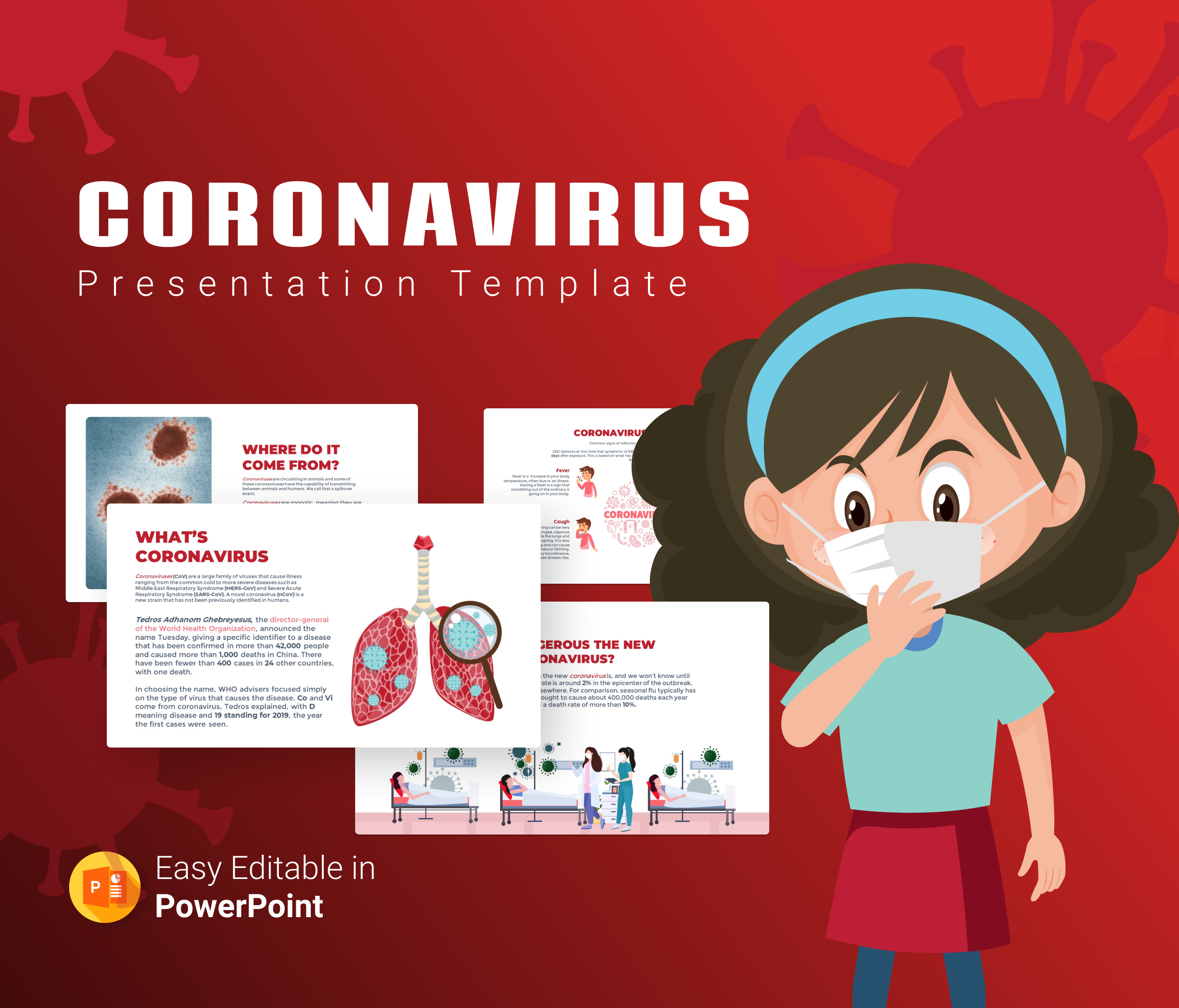 Corona virus PowerPoint Presentation Template