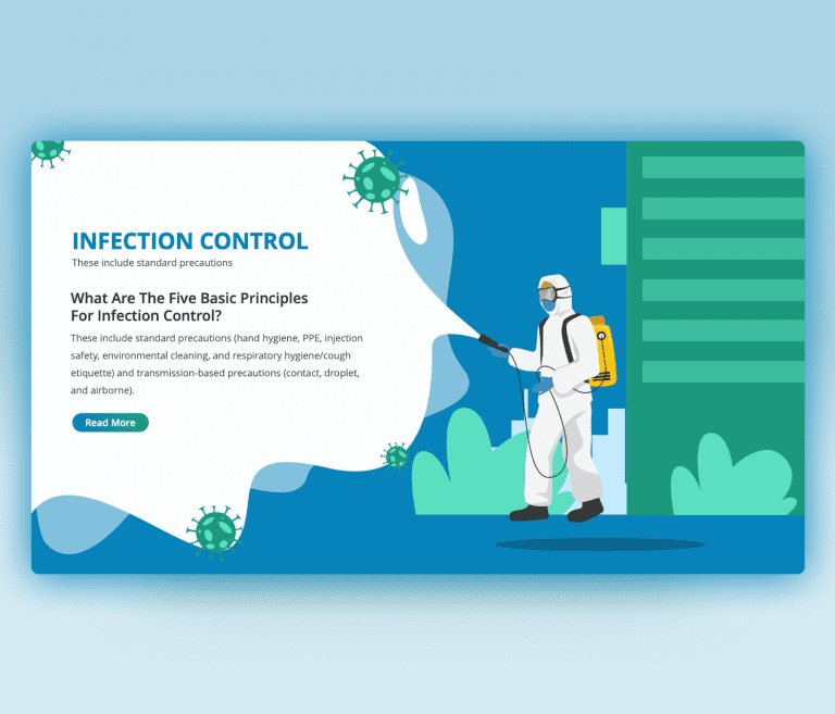 Infection Control PPT PowerPoint Template