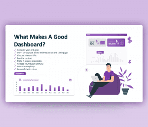 A Good Scorecard Dashboard | PowerPoint Template