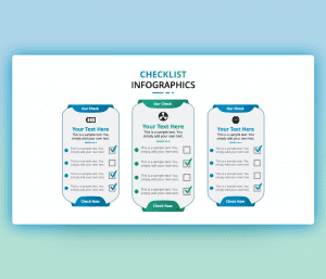 Free Checklist Infographics PowerPoint Template
