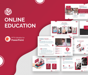 Online Education PowerPoint Presentation Template