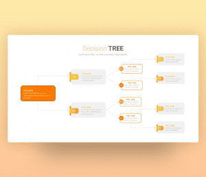 Decision Tree Diagram Template PPT