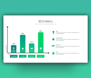 Free BCG Matrix Chart PowerPoint Template