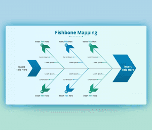 Root Cause Analysis Fishbone Diagram PPT Template