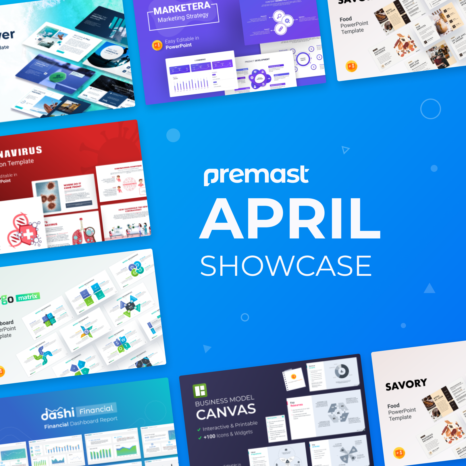 April 2020 Showcase: Top PowerPoint Presentation Templates