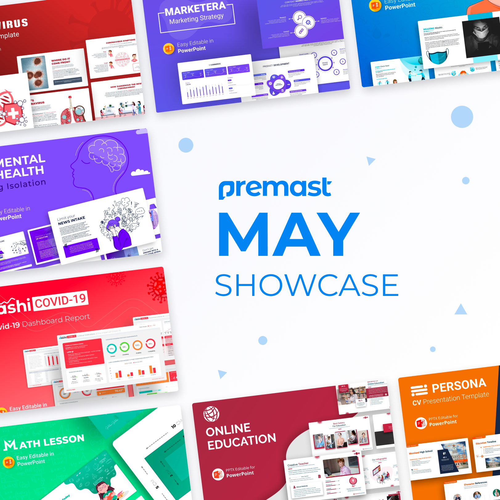 May Showcase: Recently Added, Top Presentation and More