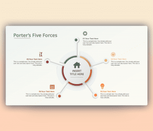 porter's five forces slide template free download