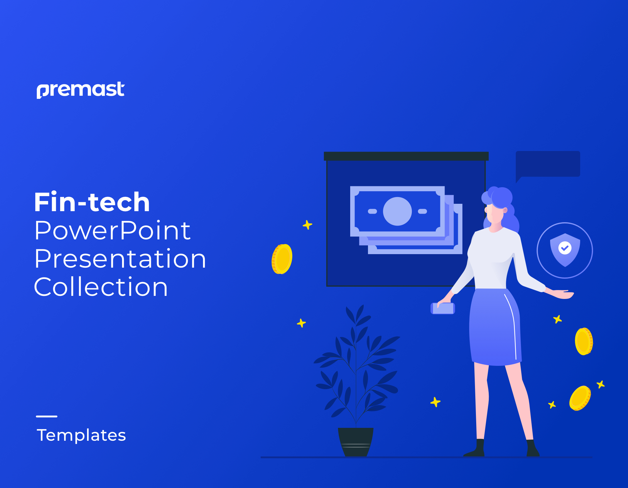 Top Fintech PowerPoint Templates Professional and Modern