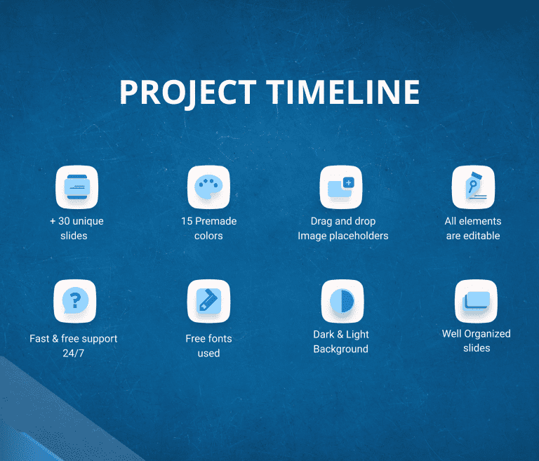 Project Timeline Report PowerPoint Presentation Template