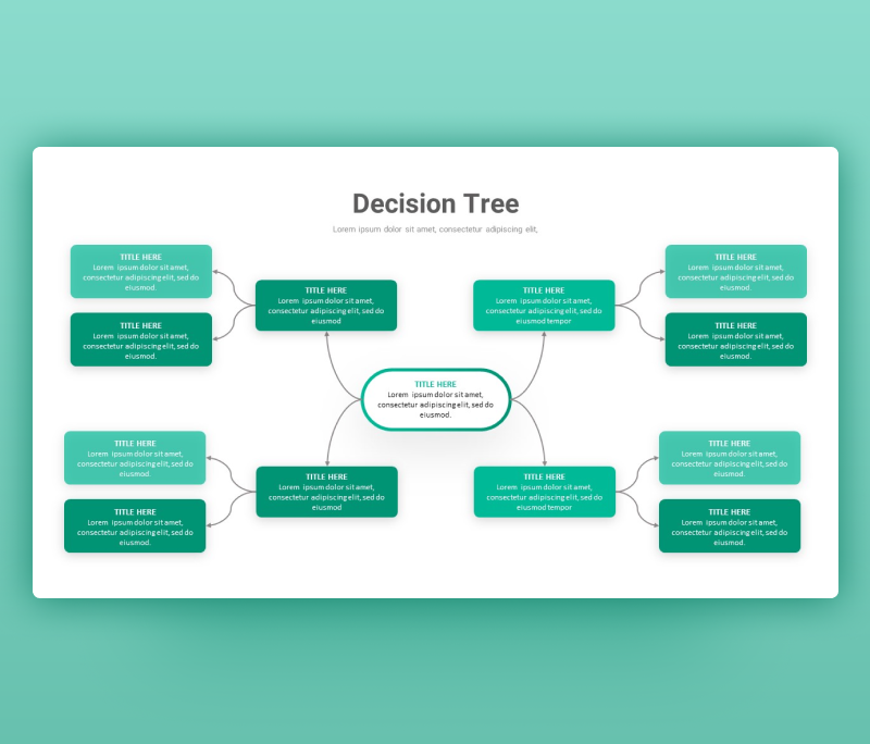 Decision Tree PowerPoint Template | Free PPT