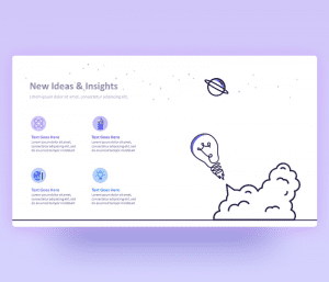 New Ideas and Insights PowerPoint Template