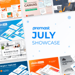 July Showcase: Recently Added, Top Downloaded Templates and more!<