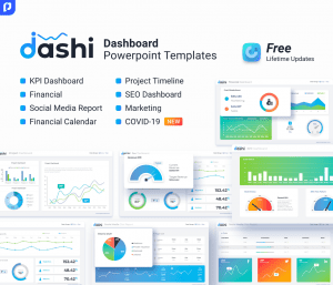 dashi dashboard PowerPoint template