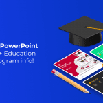"Best Education PowerPoint Templates ""EDU Support Program is included""<"