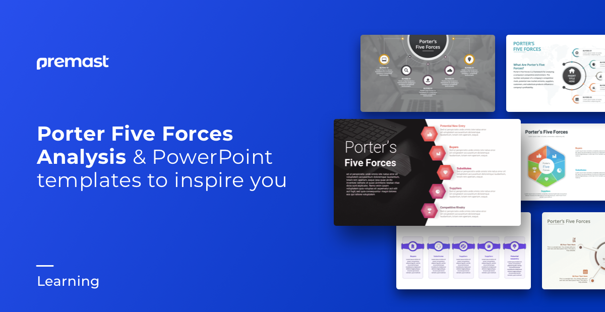 Top Porter's Five Forces Model PowerPoint Templates – Free PPT