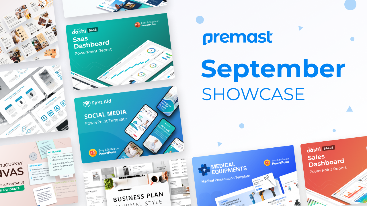 September Showcase: Recently Added, Top Downloaded and More!