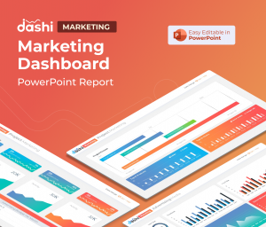 Dashi Marketing – Marketing Dashboard Report Presentation