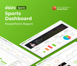 dashi Sports – Sports Dashboard PowerPoint Report Presentation