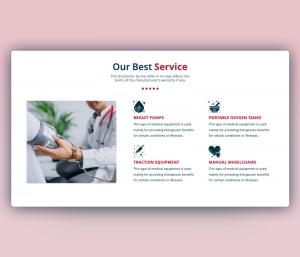 Best Service PPT (Medical Service offering Template)