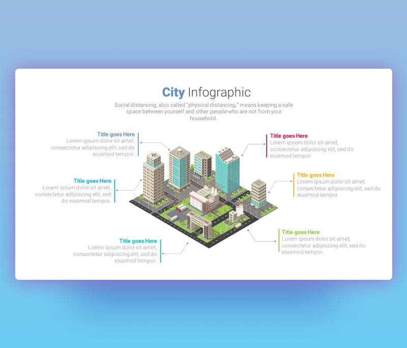 City Infographic Template for PowerPoint