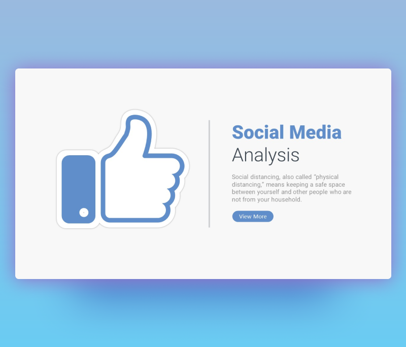 Social Media Analytics PowerPoint Slide Template