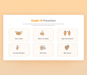 Covid-19 Prevention Template for PowerPoint