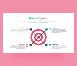 Goals Infographic Template for PowerPoint