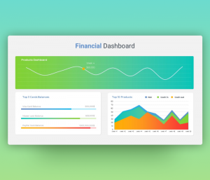Financial Dashboard Template PPT
