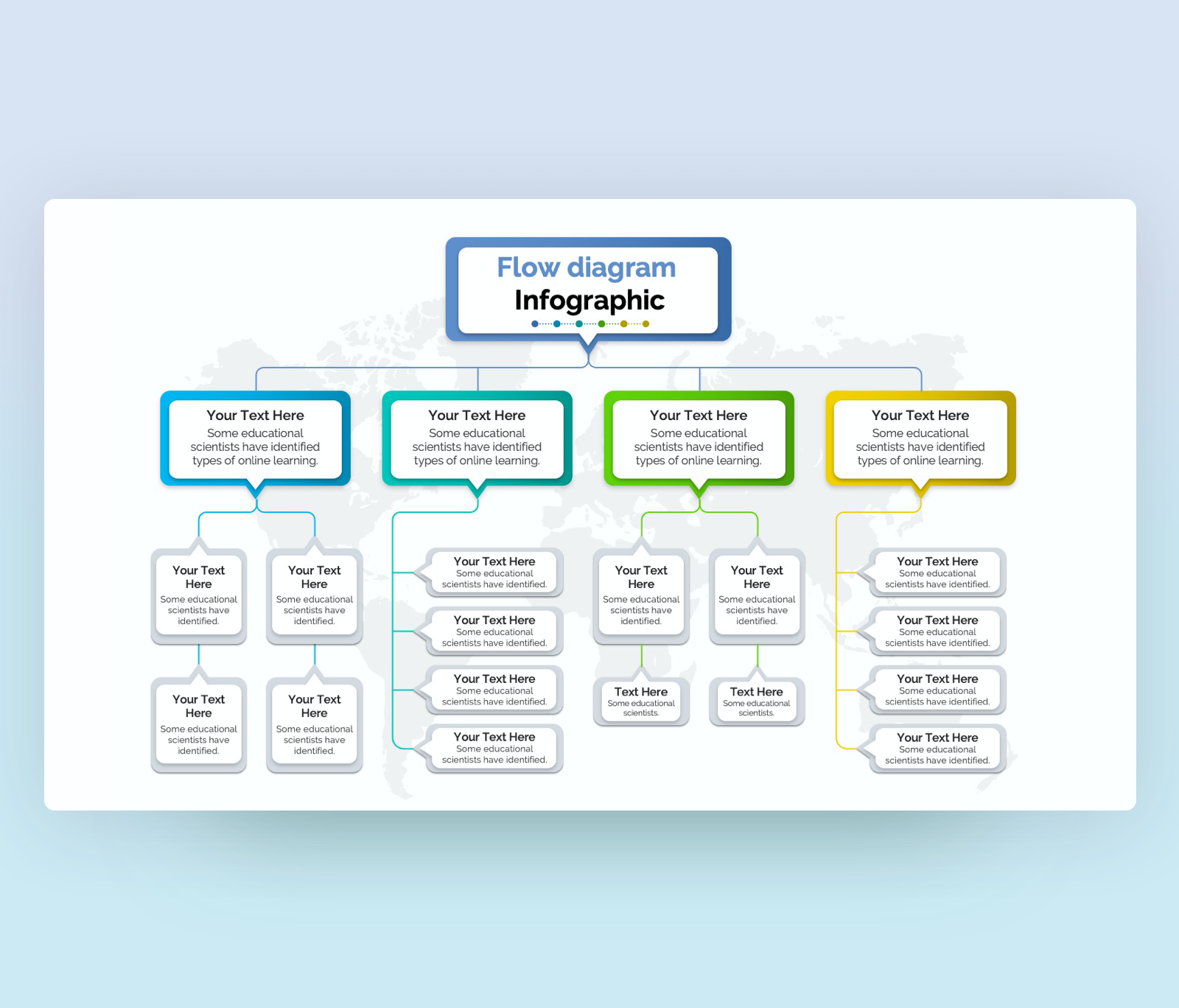 Flowchart Diagram Template for PowerPoint