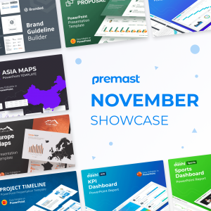 November Showcase: Recently Added, Top Downloaded& more