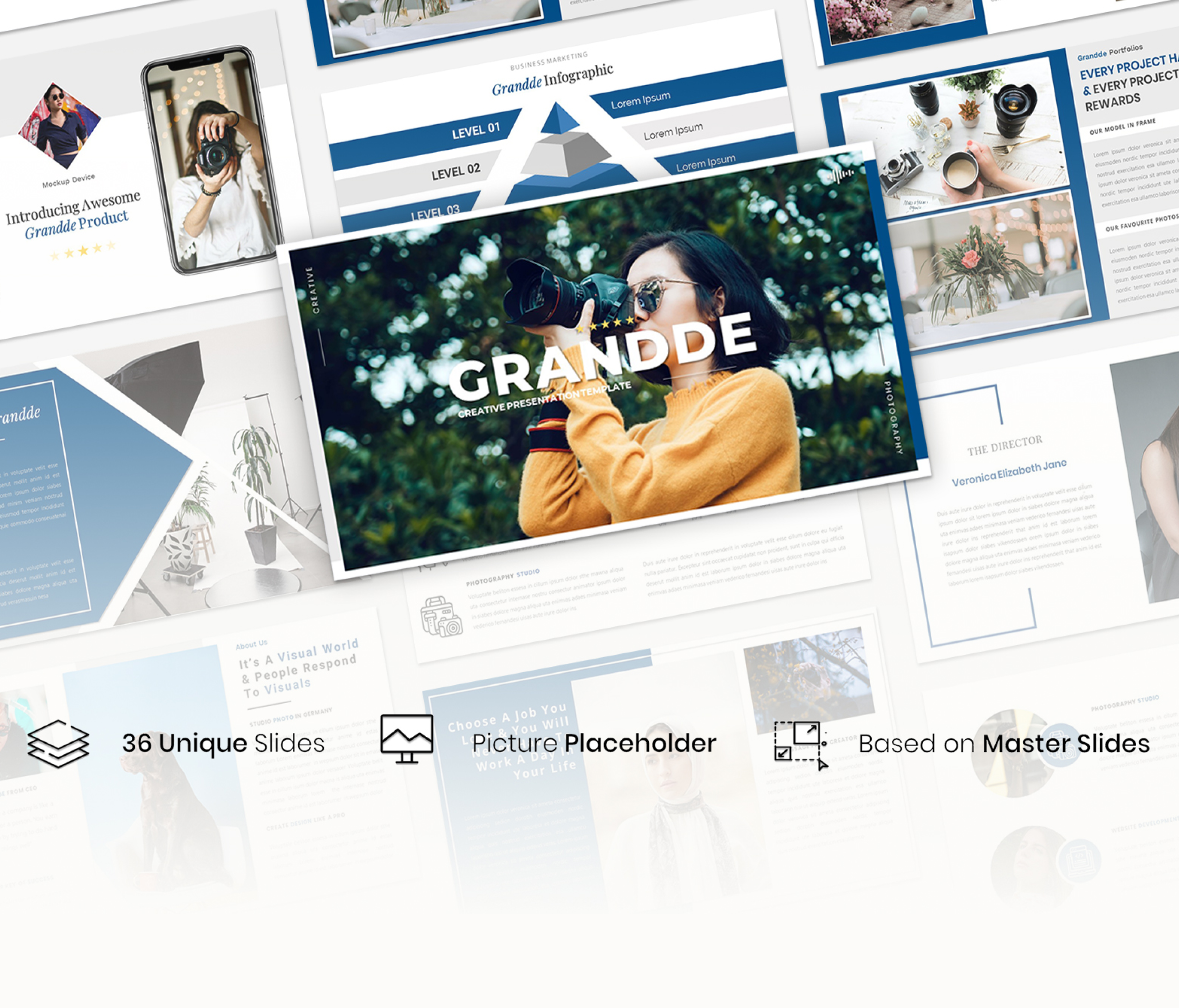 Grandde – Creative Business Presentation Template