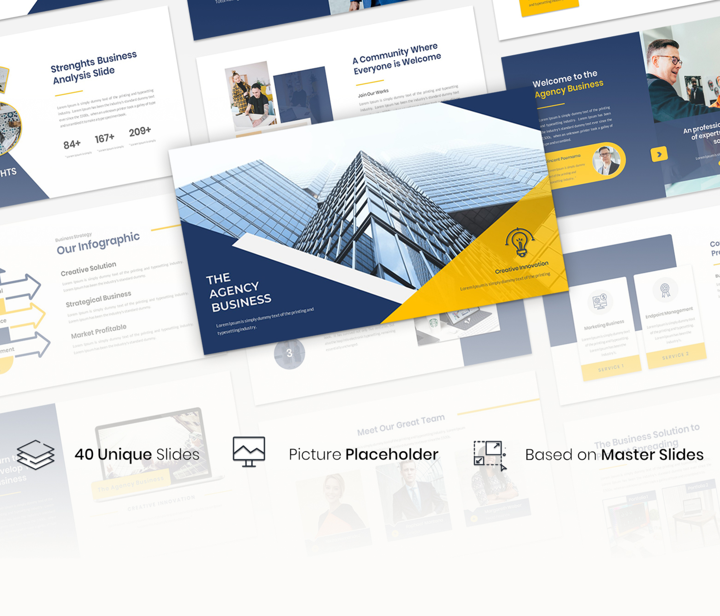 The Agency – Business Presentation Template