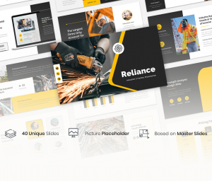 Reliance – Industrial & Factory  Presentation Template