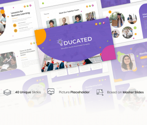 Educated – Education Course Presentation Template