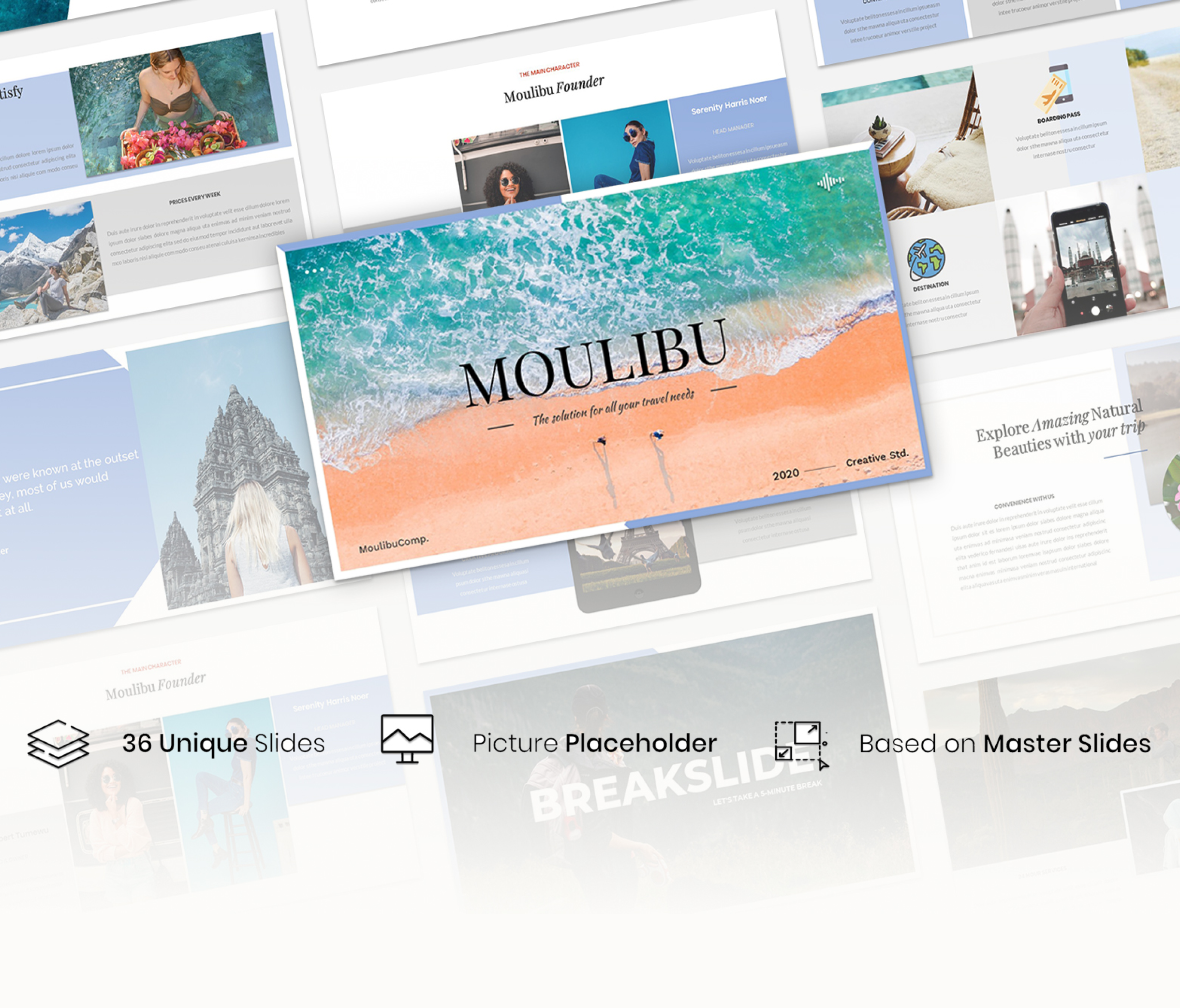 Moulibu – Creative Business Presentation Template