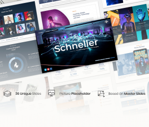 Schneller – IT & Technology Presentation Template