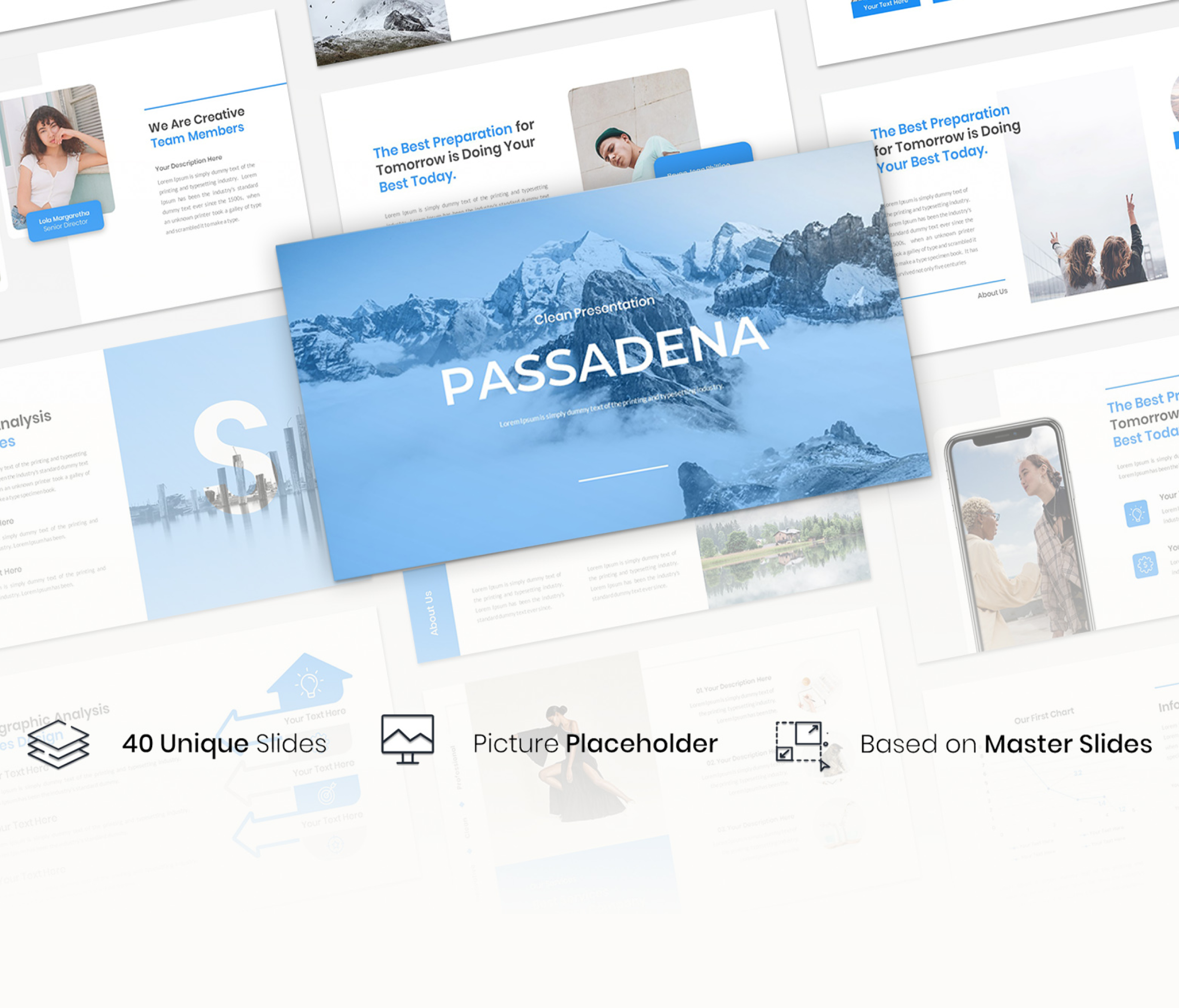 Passadena – Creative Business Presentation powerpoint