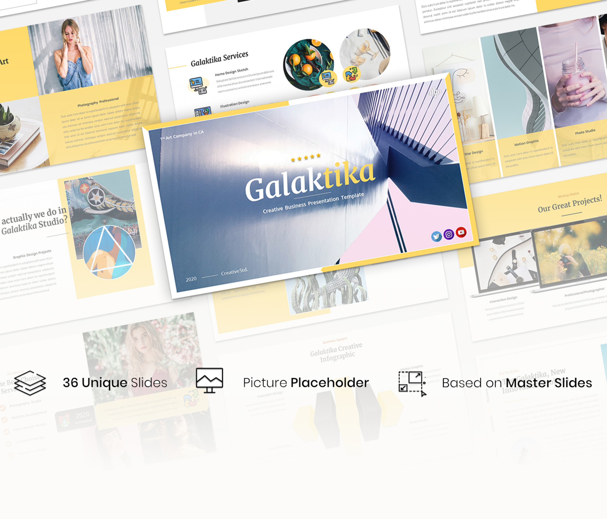 Galaktika – Creative Business Presentation Template