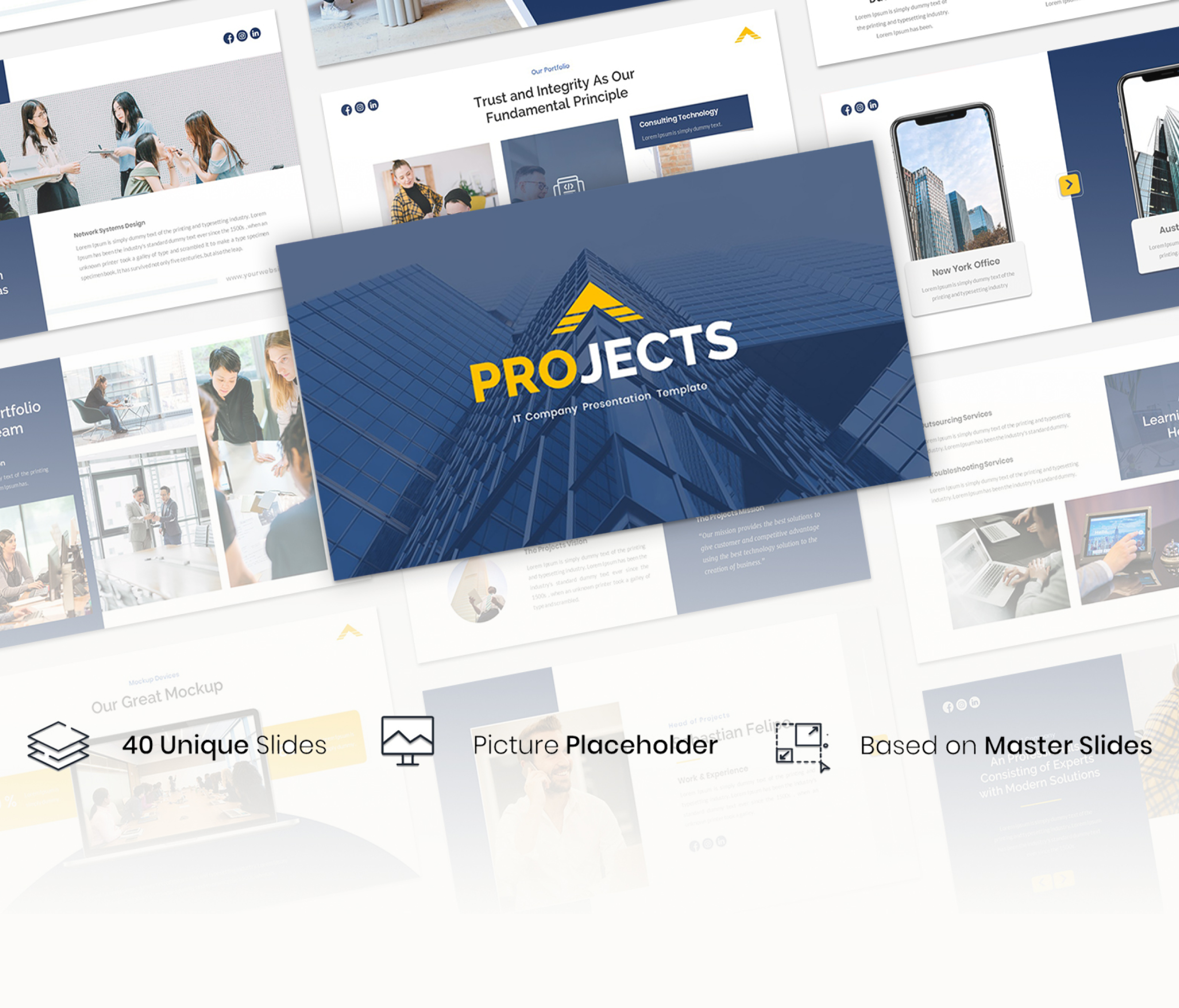 Projects – IT Company Presentation Template
