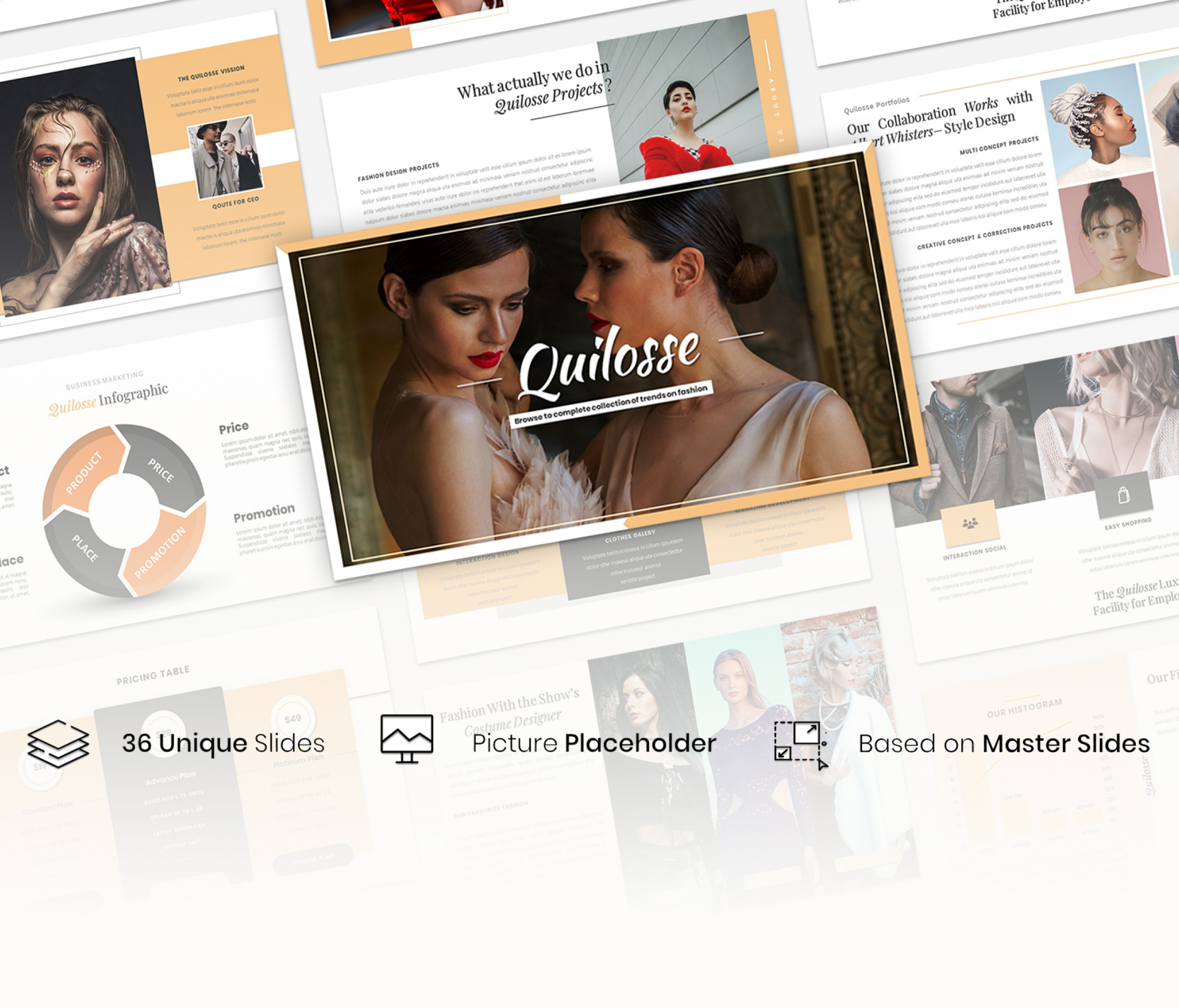 Quilosse – Creative Business Presentation Template