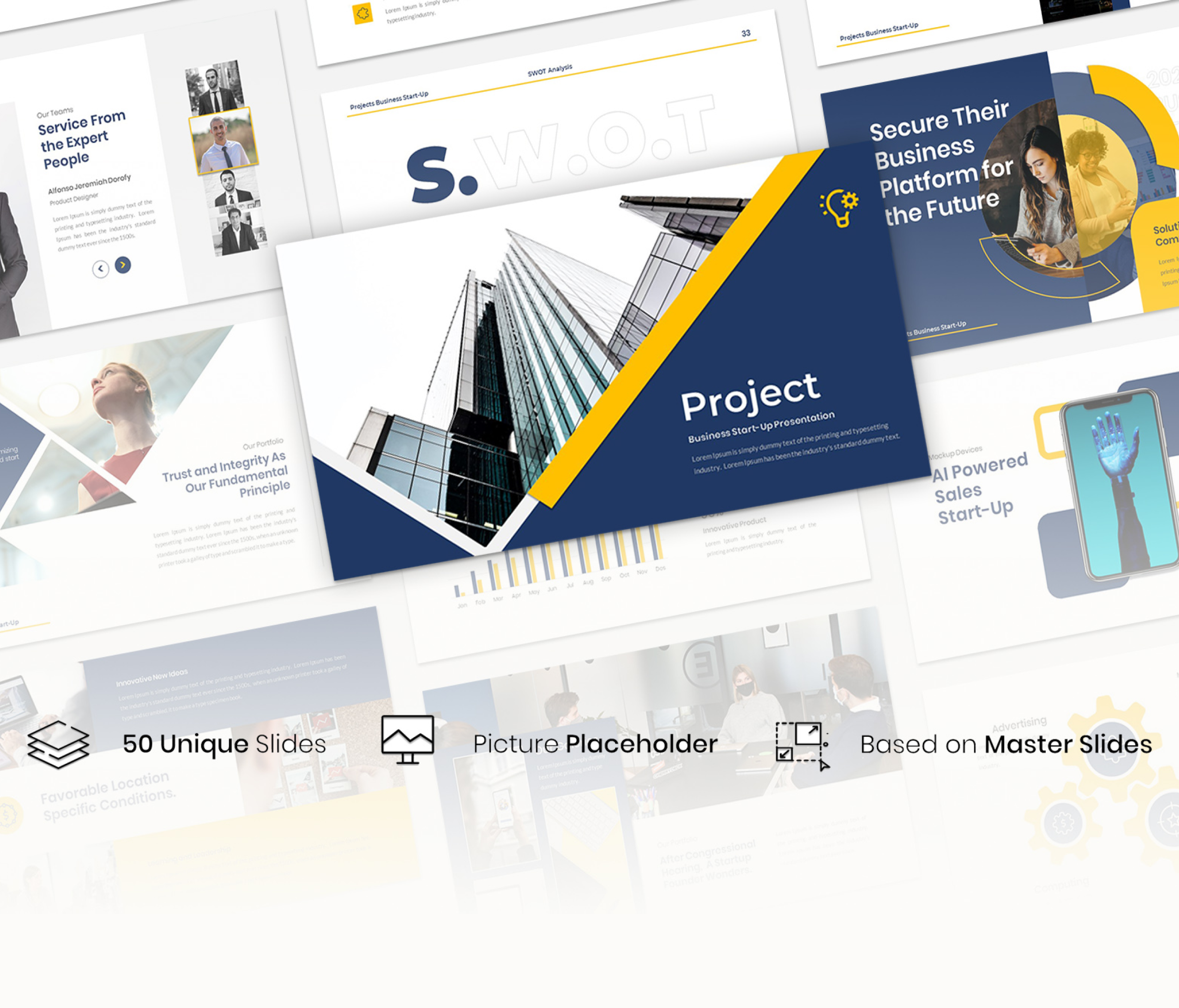 Project – Creative Business Presentation powerpoint